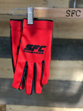 Load image into Gallery viewer, SFC INDUSTRIES 2020 RED MX GLOVES