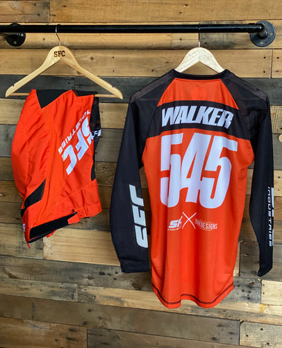 SFC INDUSTRIES 2020 COLLECTION KTM ORANGE MX PANTS