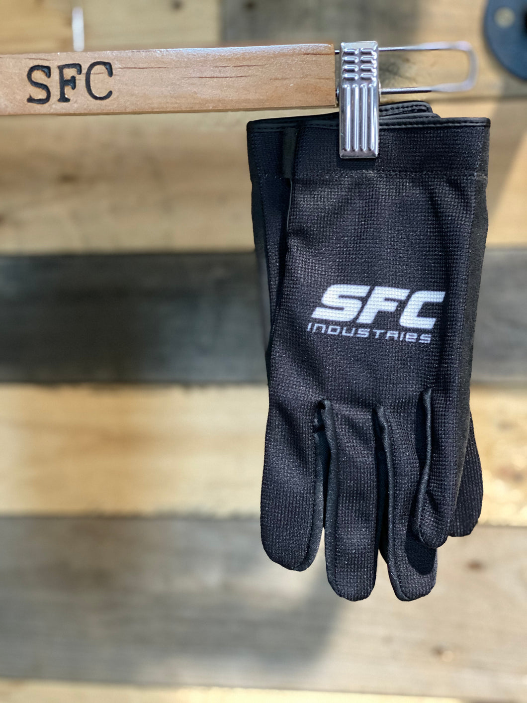 SFC INDUSTRIES 2020 BLACK MX GLOVES