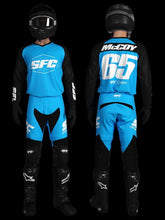Load image into Gallery viewer, SFC INDUSTRIES 2020 COLLECTION CYAN BASE MX PANTS