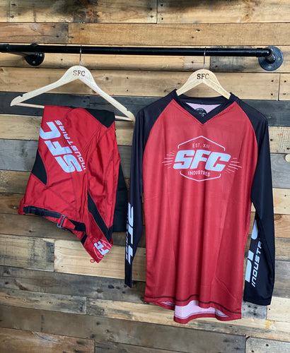 SFC INDUSTRIES 2020 COLLECTION MAROON BASE MX JERSEY