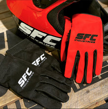 Load image into Gallery viewer, SFC INDUSTRIES 2020 BLACK MX GLOVES