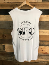 Load image into Gallery viewer, SFC BADGE CUT SLEEVE TEE