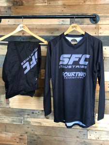 SFC INDUSTRIES BLACK/GREY MX JERSEY