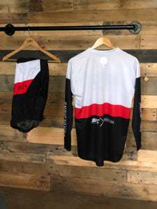 SFC/DMK WHITE-RED MX JERSEY