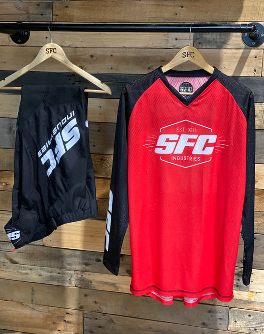 SFC INDUSTRIES 2020 COLLECTION RED MX JERSEY