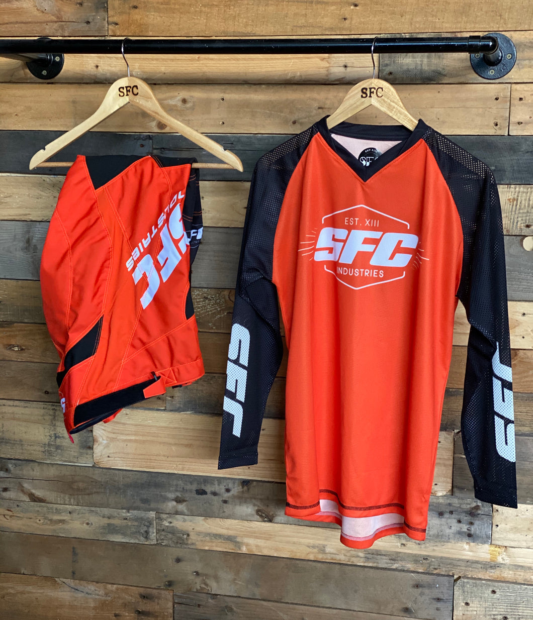 SFC INDUSTRIES 2020 COLLECTION KTM ORANGE MX JERSEY