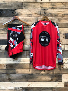 SFC INDUSTRIES RED CAMO MX JERSEY