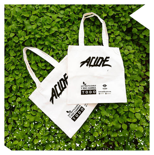Acide Tote Bag, bolsa reutilizable