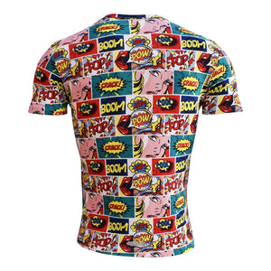Playera Comic Caballero