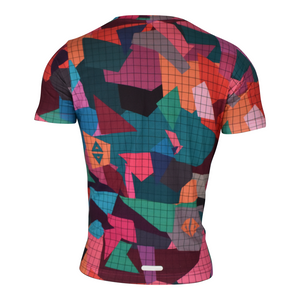 Playera Geo Colors Caballero