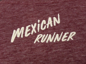 "playera ""Mexican Runner"" Run Vibes Only"