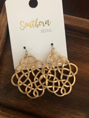 Simply Intertwined Earrings