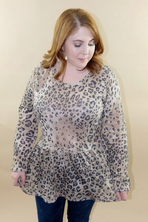 Wild Side Animal Print Top