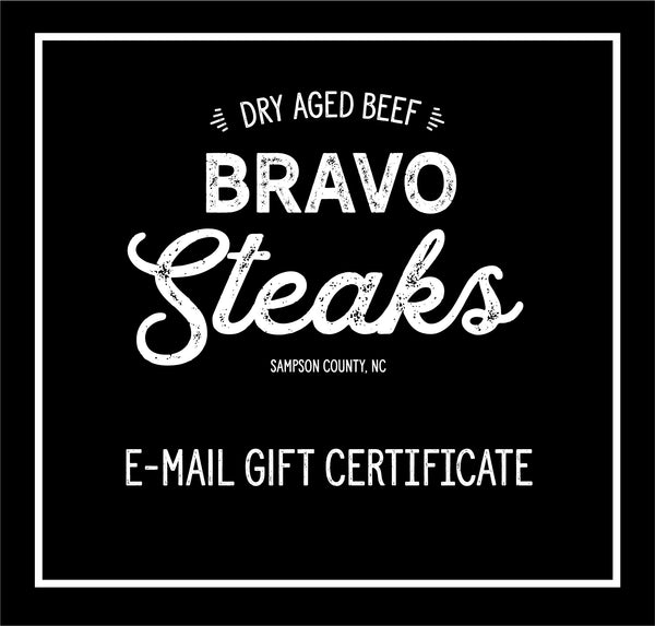 E-mail Gift Certificate