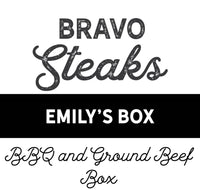Emily's Box - BBQ and Ground Beef