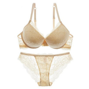 Super Gather Brassiere Thick Lace Lingerie