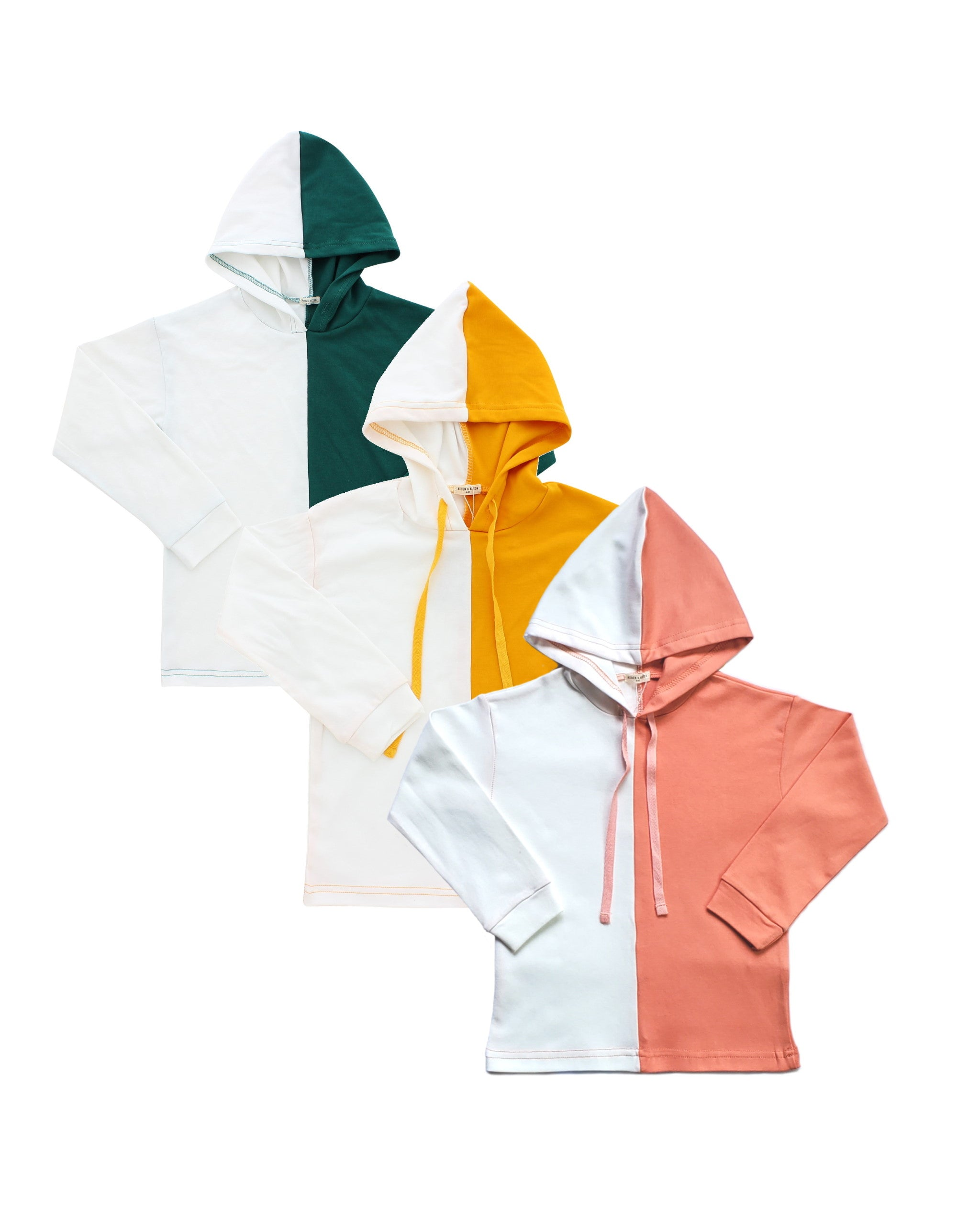COLOUR BLOCKED HOODIE