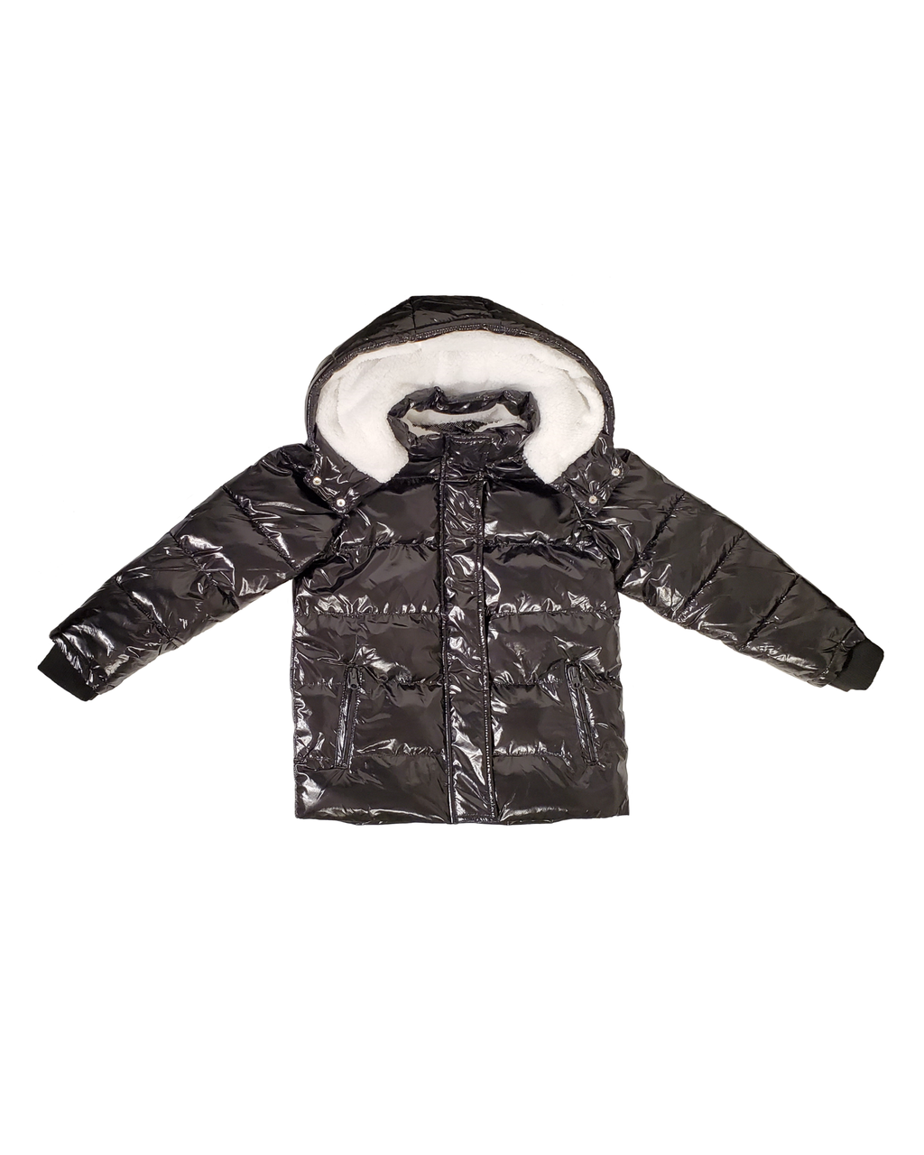 Winter Jacket - Liquid Black