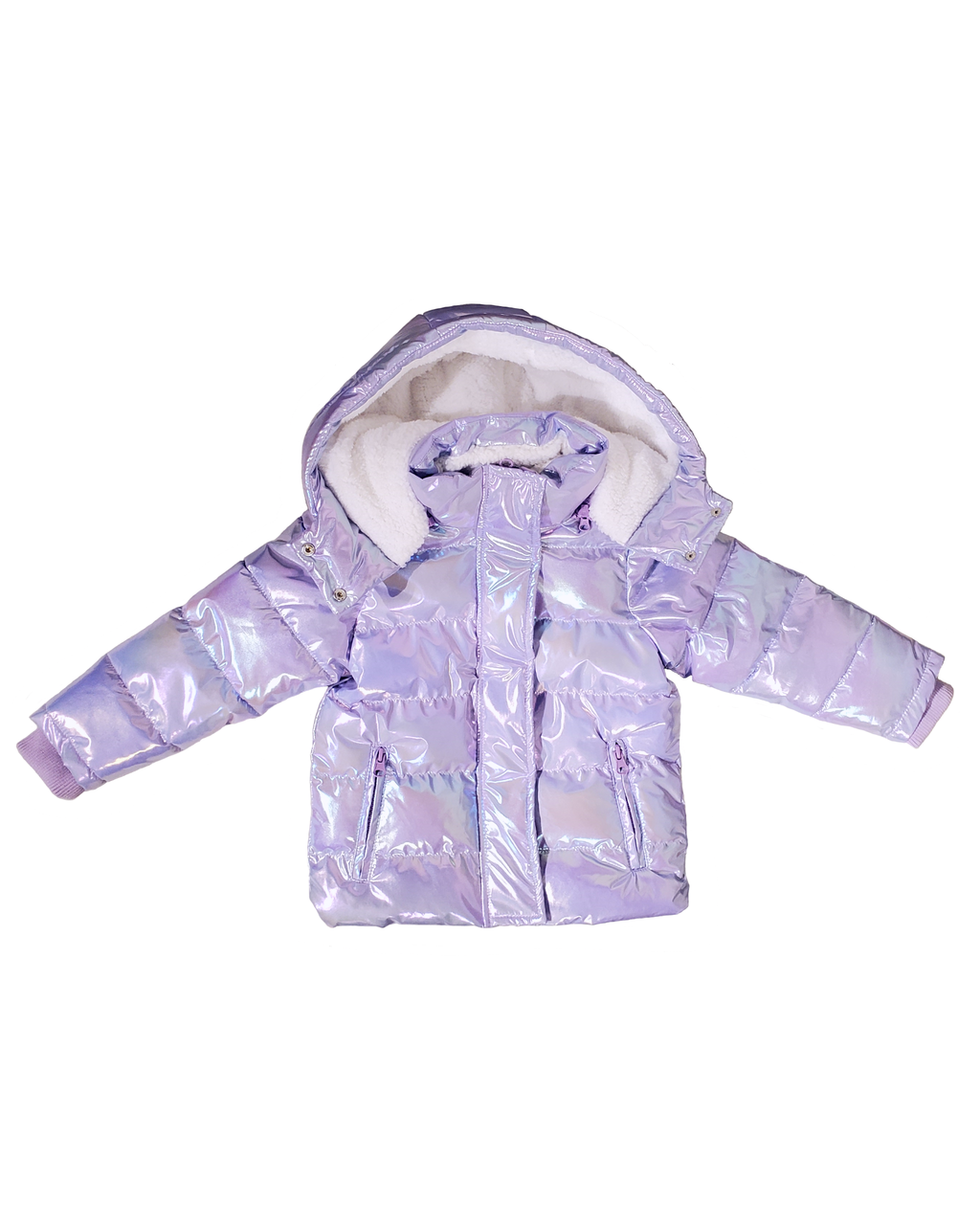 Winter Jacket - Mermaid Purple