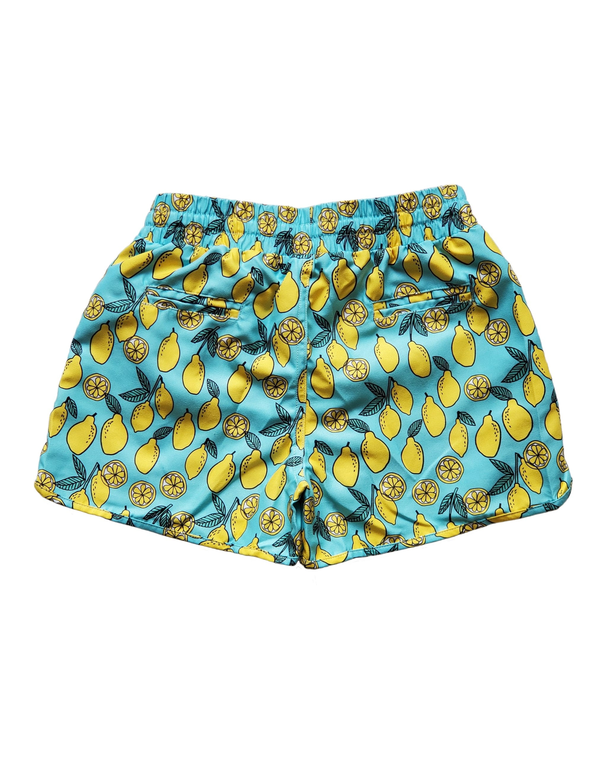 LEMON SWIM SHORTS