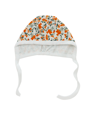 POPPY FLOWER BONNET SET
