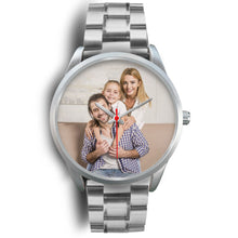 Load image into Gallery viewer, PERSONALIZED Silver Watch