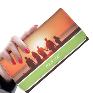 PERSONALIZED Women's Wallet with TEXT