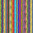 J1125 COLORFUL PAIN STROKES STRIPES PRINT