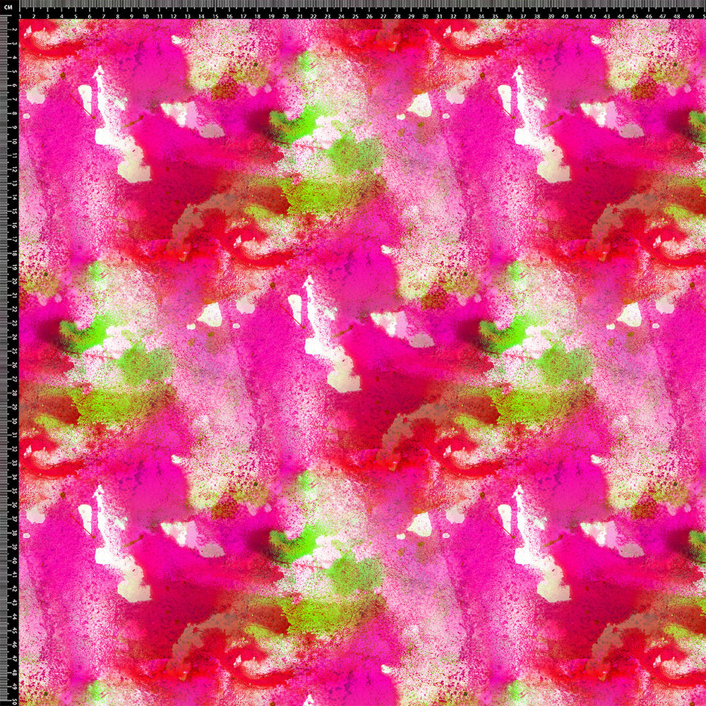 J179 PINK PAINT ABSTRACT PRINT