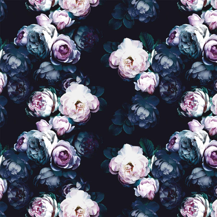 S191 LIGHT AND DARK FLORAL PRINT