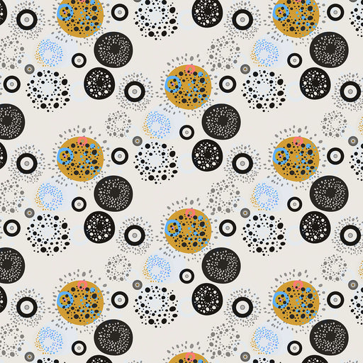 V221 MECHANICAL CIRCLE DOTS  PRINT