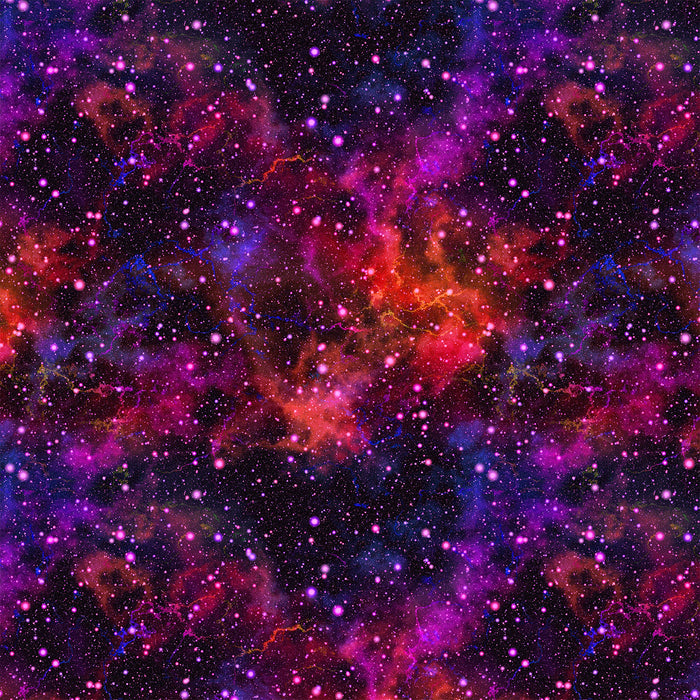 S298 PURPLE AND RED GALAXY PRINT