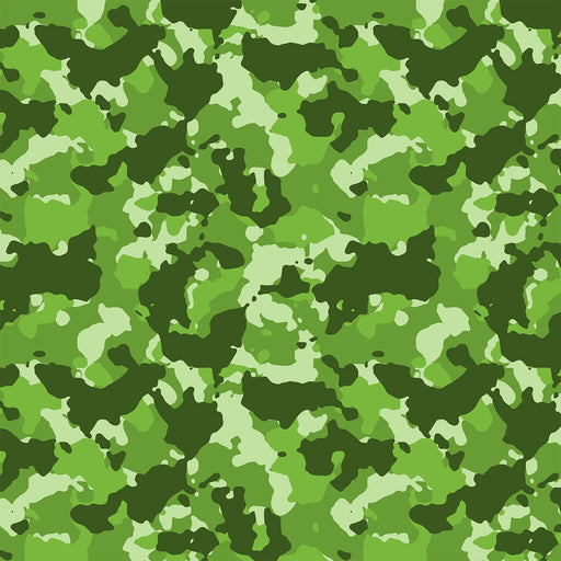 J338 GREEN CAMOUFLAGE PRINT