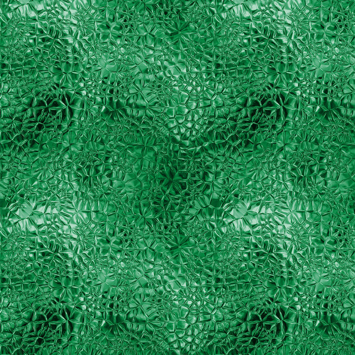 J351 GREEN SHINY LOOK TEXTURE PRINT