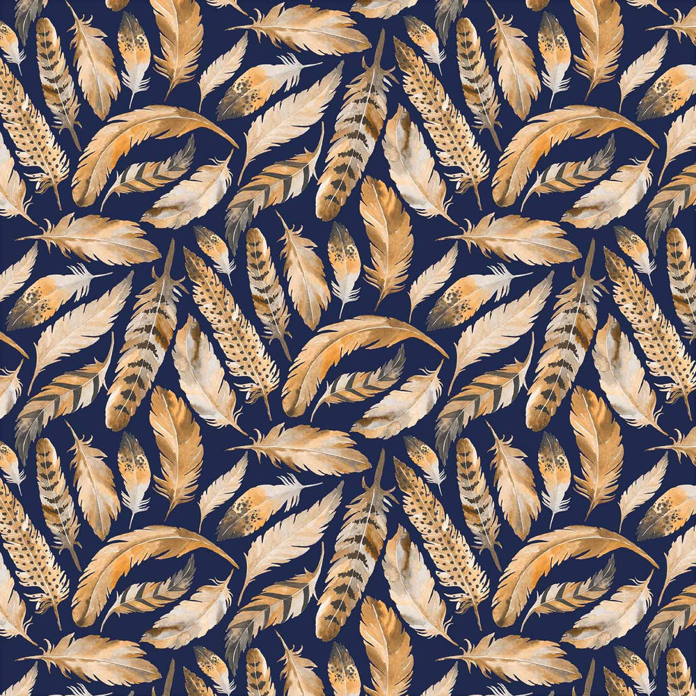 J513 LOVELY MIX FEATHER PRINT