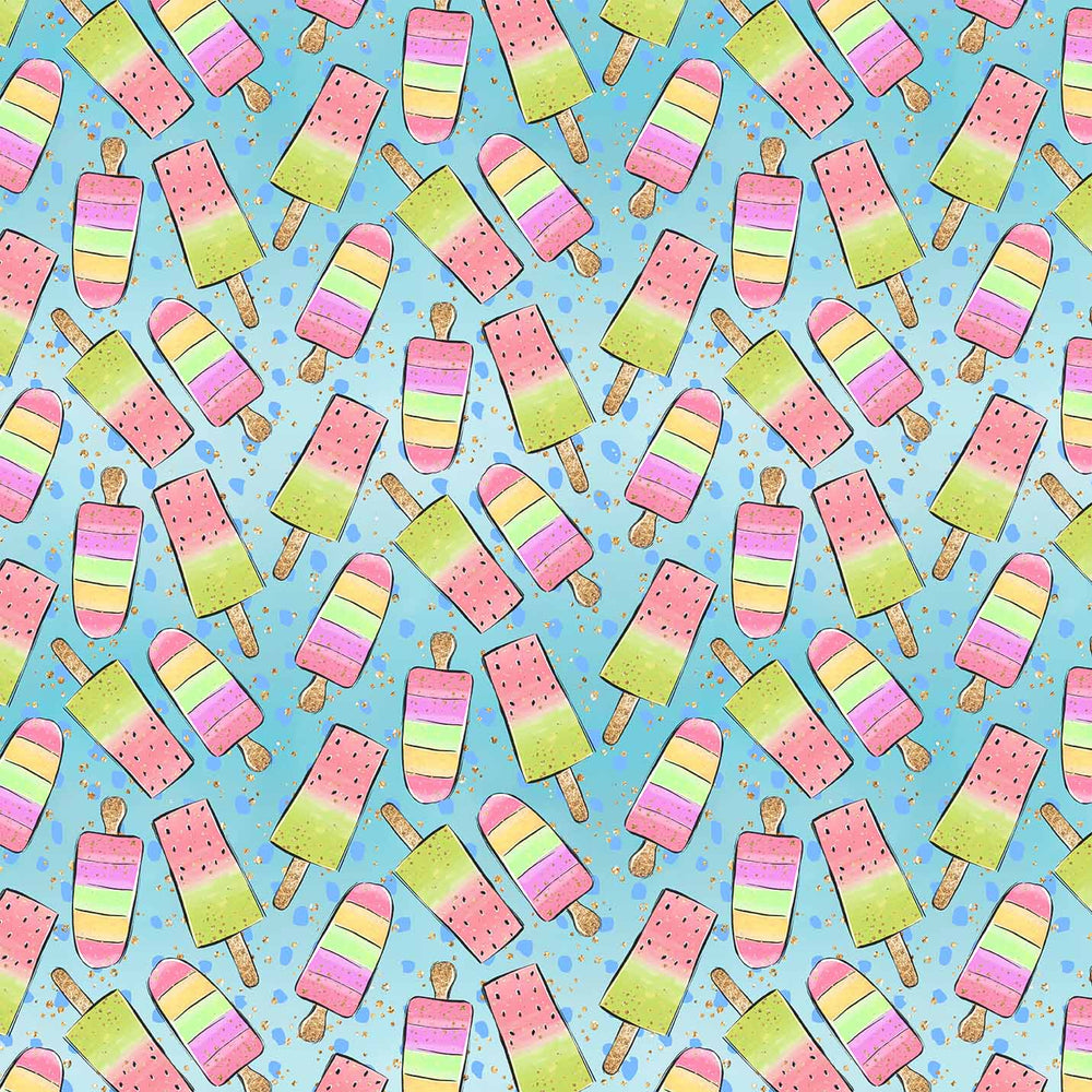 J539 MULTI ICE LOLLY PRINT