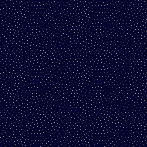 S638 GREY AND NAVY POLKA DOT PRINT