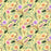 J705 YELLOW BASE GLITTER FLORAL PRINT