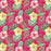 J757 RED BASE TROPICAL FLORAL PRINT