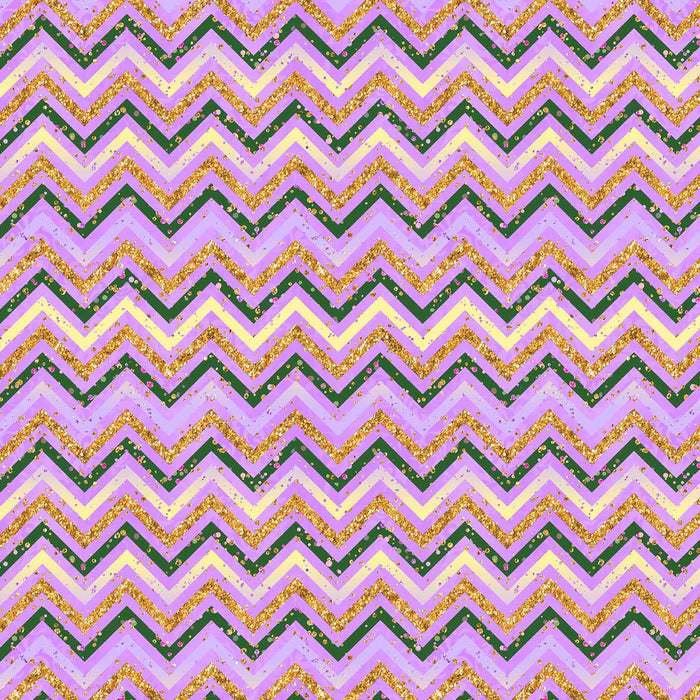 J770 PURPLE BASE ZIGZAG PRINT