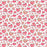 J821 WHITE BASE LOVE HEARTS PRINT