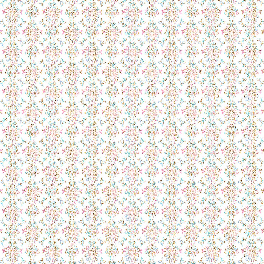 J928 WHITE BASE DAMASK PRINT