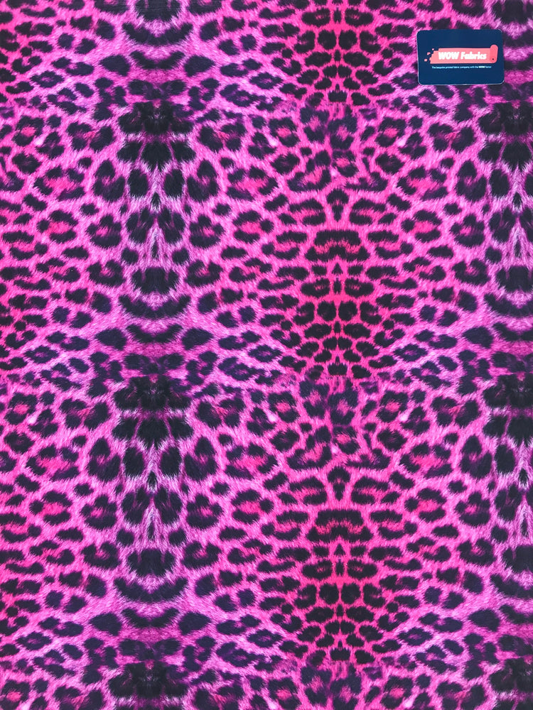 S25 Hot Pink Leopard Detail Print