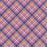 J141  Purple and pink check Print