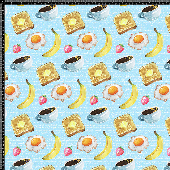 J458 YUMMY BREAKFAST PRINT