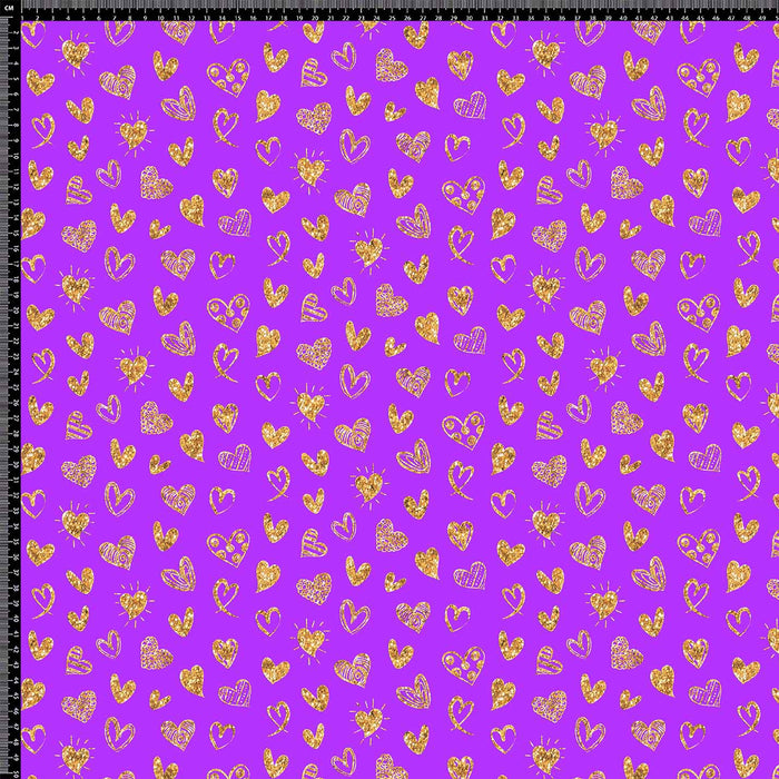 J544 PURPLE STAR PRINT