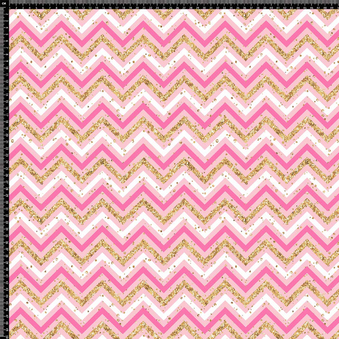 J800 PINK AND GOLD ZIG ZAG PRINT