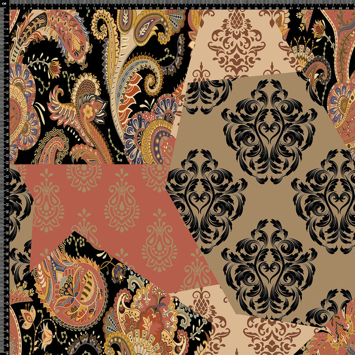 S213 PAISLEY PATCHWORK PRINT