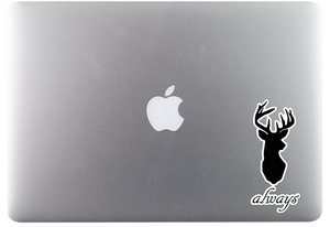 Always Deer Sticker